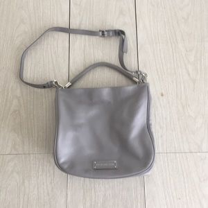 Marc by Marc Jacobs grey hobo tote bag